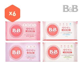 [티몬균일가] 비앤비 세탁비누 x6+ [사은품] 비앤비 섬유세제 800ml
