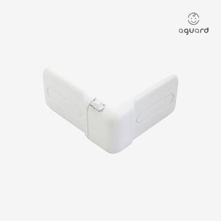 [슈퍼마트]ㄱ자형 서랍 잠금장치화이트