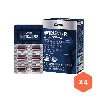 [티몬균일가] GNM자연의품격 루테인오메가3 1050mg*30C*4통(4개월분)