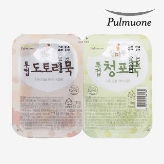 [슈퍼마트] 풀무원투컵 청포묵+도토리묵 280g