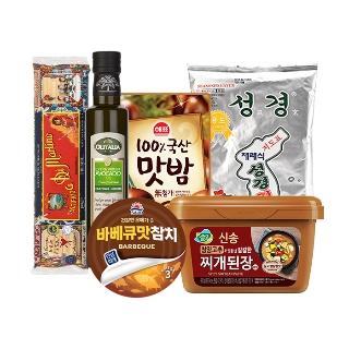 사조 참치 100gX7개 외 반찬/요리재료 34종
