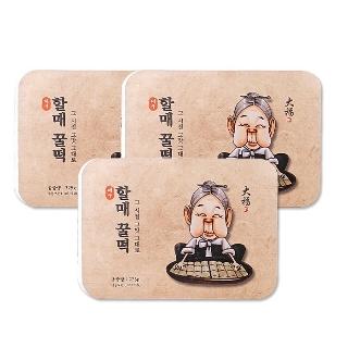 [티몬균일가] 대구 할매꿀떡 225gX3팩 / 총 45개입