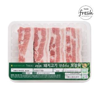 [슈퍼마트]냉장 허브한돈 삼겹살 500g 1등급 암퇘지 (보쌈용)