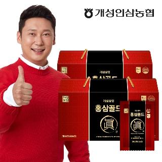 [티몬2020] 히트상품 개성상인 홍삼스틱 1+1 / 총60포+쇼핑백 /가성비 가심비 킹