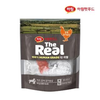 [슈퍼마트] 더리얼 저키 훈제 닭가슴살 70g