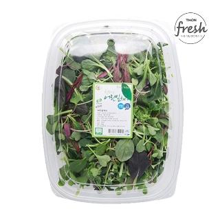 [슈퍼마트] 무농약 어린잎 채소믹스 150g