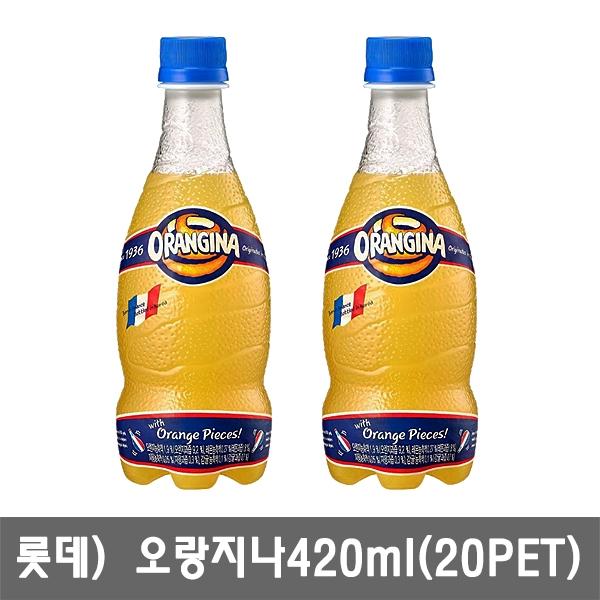 [무료배송] 오랑지나420ml X 20개