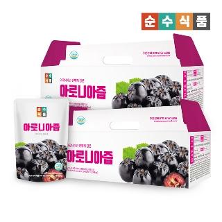 [슈퍼마트] 순수100 아로니아즙 30팩+30팩