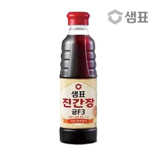 [슈퍼마트] 샘표 진간장 금F-3 500ml