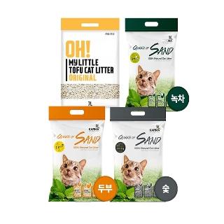 [티몬균일가] 고양이 두부모래 퀸오브샌드/오마이