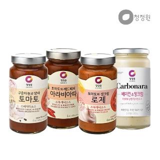 [티몬균일가] 청정원 BEST 스파게티,파스타 소스 3개 묶음