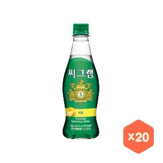 [슈퍼마트]씨그램 레몬 450mlX20