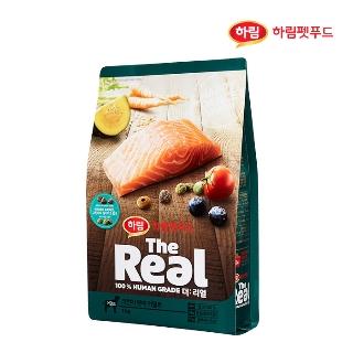 [슈퍼마트] 더리얼 강아지 크런치 연어 어덜트 1kg