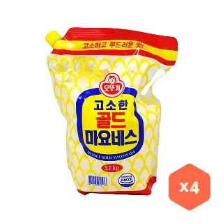 [대용량]오뚜기 마요네즈(스파우트) 3.2kg*4