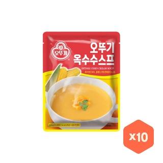 [슈퍼마트] 오뚜기 옥수수스프 1kg x10개 무배