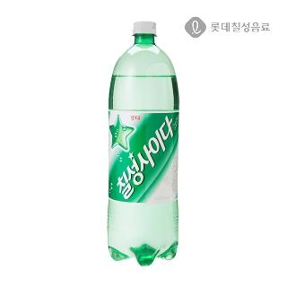 [슈퍼마트] 롯데 칠성 사이다 1.5L
