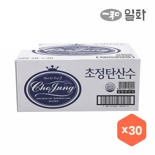 [슈퍼마트]초정 탄산수250mlX30캔