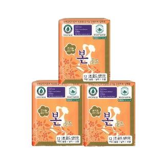 [티몬균일가] 유기농커버본 골드 소형 12P x3개