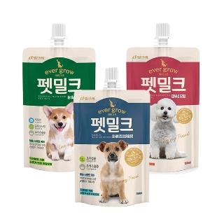[슈퍼마트] 빙그레 에버그로 강아지 펫밀크 150ml/250ml