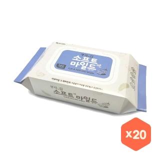 [티몬균일가] 모나리자 부자되는집 물티슈 캡형 100매 x 20팩