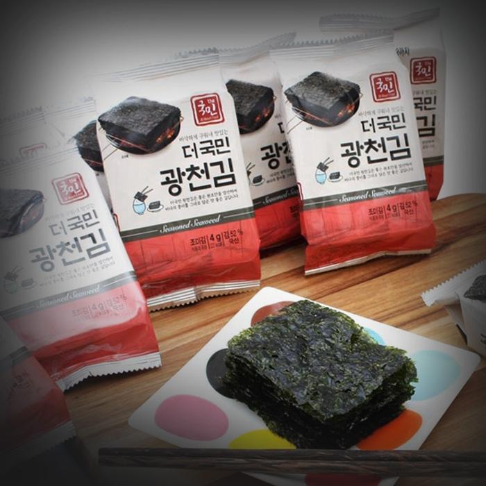 더국민 광천 도시락김 16단X3(48봉) 외 51종