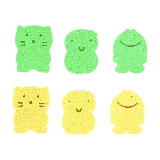 [티몬121212] 티몬균일가 베일리 유아 목욕스펀지 1+1+1+1+1 신생아 아기목욕스펀지 목욕용품