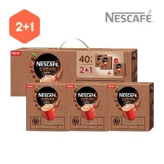 [슈퍼마트][하나덤]네스카페 선물세트 신선한 리치 2+1 120T