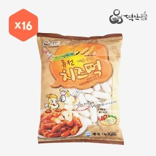 [대용량]퓨전 치즈떡 1kg×16입