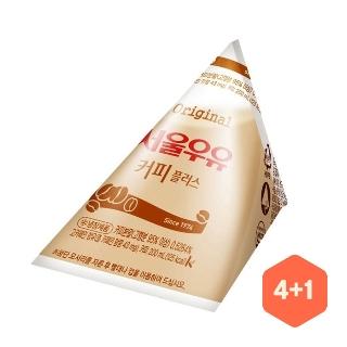 [슈퍼마트] 서울우유 커피포리 4+1