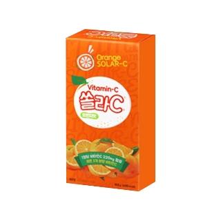 [슈퍼마트] 고려은단 쏠라C 정 80T 오렌지맛