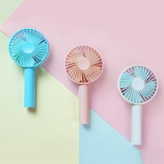 [티몬균일가] 로아 휴대용 핸드 USB 선풍기 화이트와 핑크