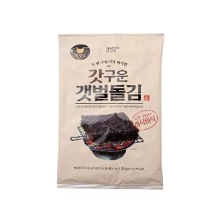 [기한임박] 만전김 갓구운 갯벌돌김 5봉 (20gX5입) 유통기한 2019-06-13