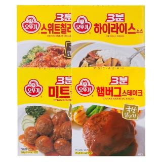 [티몬균일가] 오뚜기 즉석식품 4종