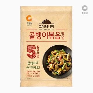 [슈퍼마트] 청정원 골뱅이볶음양념 10g*2개