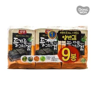 [슈퍼마트]동원 양반김 들기름김5gX9봉
