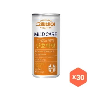 [슈퍼마트] 그린비아 마일드케어 단호박 200ml 30개