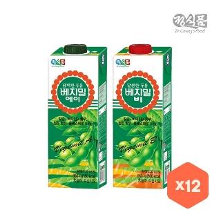 [대용량] 베지밀 A / B X 950ml X 12개