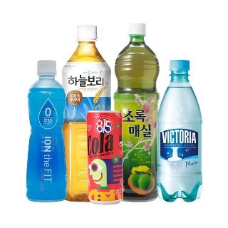 [슈퍼마트] 빅토리아 탄산수 플레인 500mlx20입 외 13종 웅진식품 음료 모음전