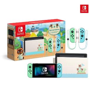 [Nintendo] 닌텐도 스위치 (배터리 개선판) 동물의숲 에디션