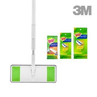 [티몬균일가] 3M 기획세트 대형 올터치 막대걸레 + 정전기 40매 + 물걸레 1매