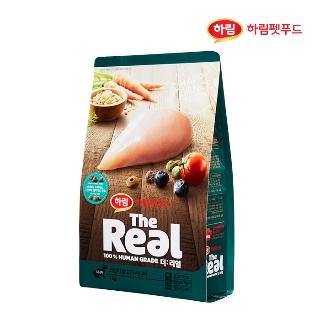 [슈퍼마트] 더리얼 강아지 크런치 닭고기 시니어 1kg