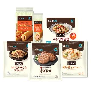 [슈퍼마트] 청정원 집으로ON 참떡갈비 외 18종