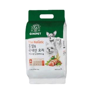 [티몬균일가] 지니펫 홀리스틱 홍삼&국내산 오리 1.2KG