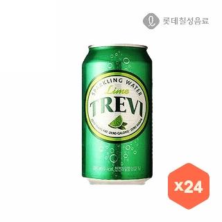 [슈퍼마트] 트레비라임 355ML*24입