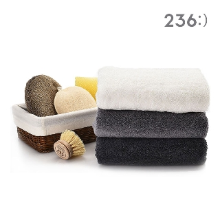 [대용량] 236 코마사타월 40수 그레이 170gX5매X14개X1박스