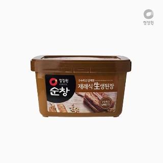 [슈퍼마트]대상 청정원 순창 재래식 안심 생된장 1kg