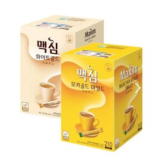 [동서식품] 동서식품 맥심 모카골드/화이트골드 커피믹스 210T