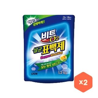 [티몬균일가] 비트 O2 살균표백제 1.5kg x2개