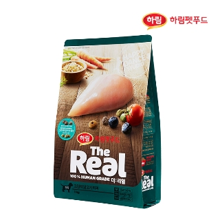 [슈퍼마트] 더리얼 강아지 크런치 닭고기 퍼피 1kg