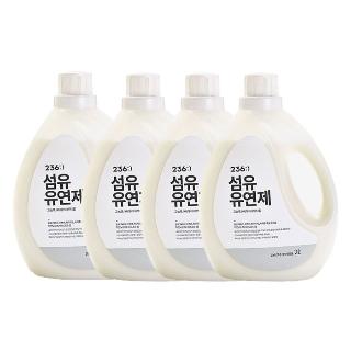 [티몬균일가] 236 섬유유연제 2L x4